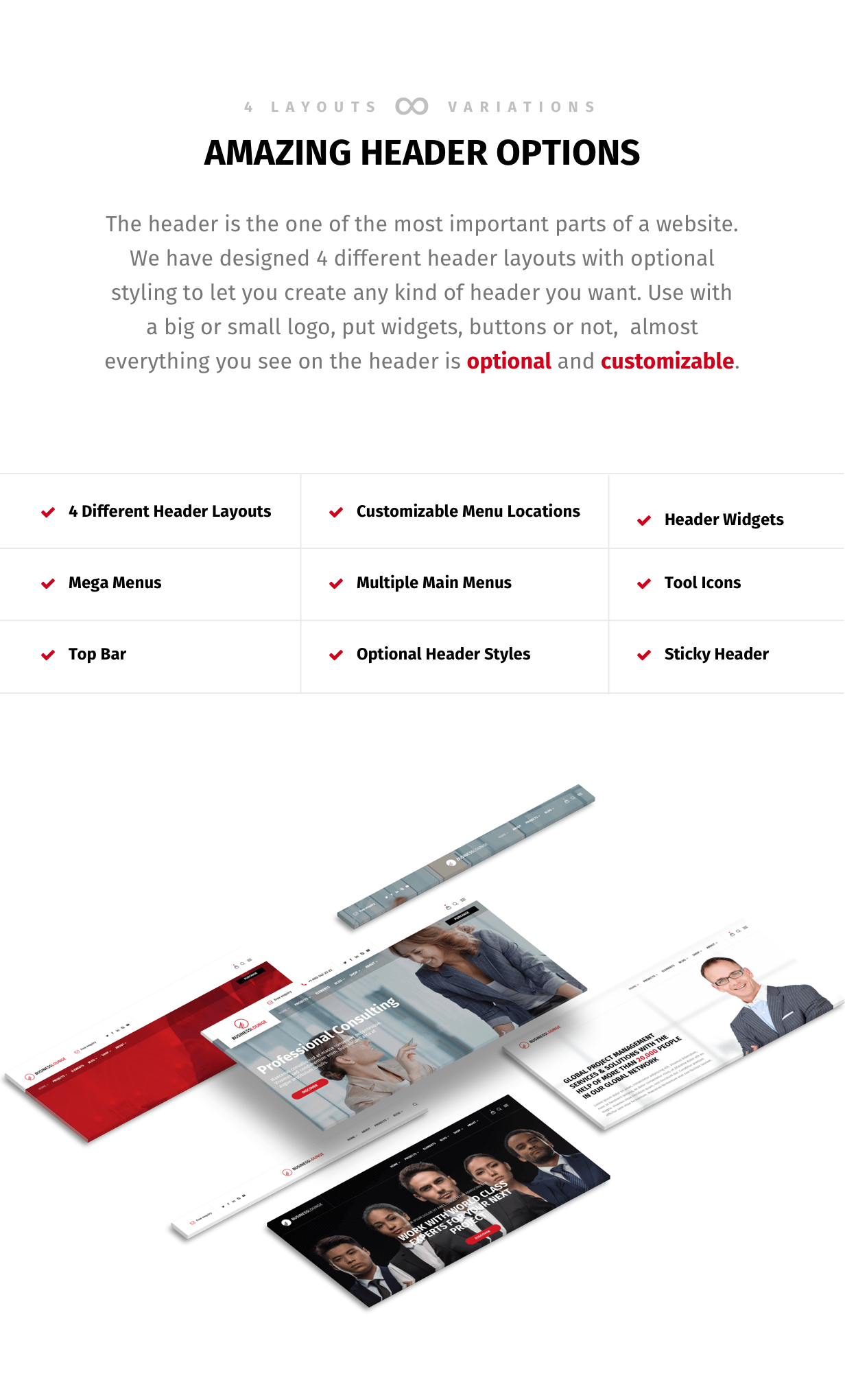 Business Lounge | Multi-Purpose Consulting & Finance Theme - 2