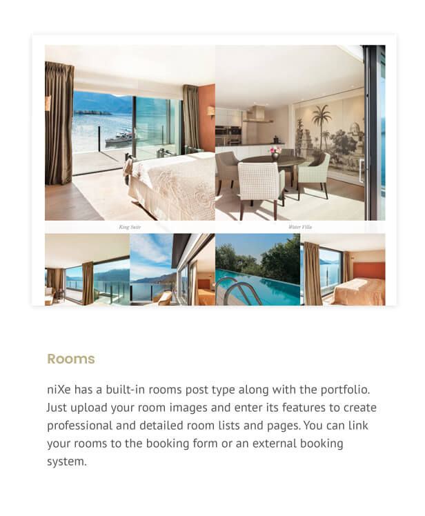 Nixe | Hotel, Travel and Holiday WordPress Theme - 10