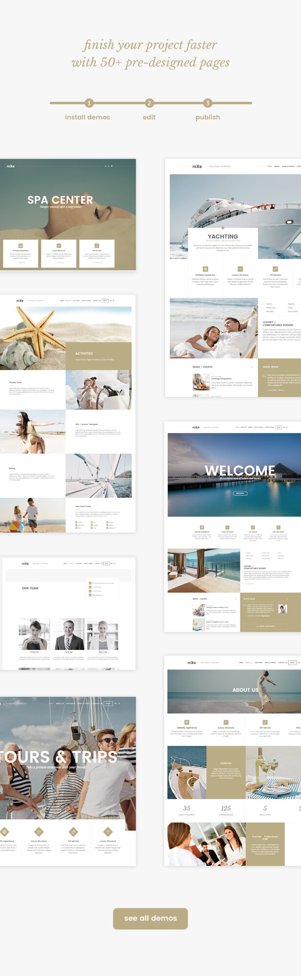 Nixe | Hotel, Travel and Holiday WordPress Theme - 5