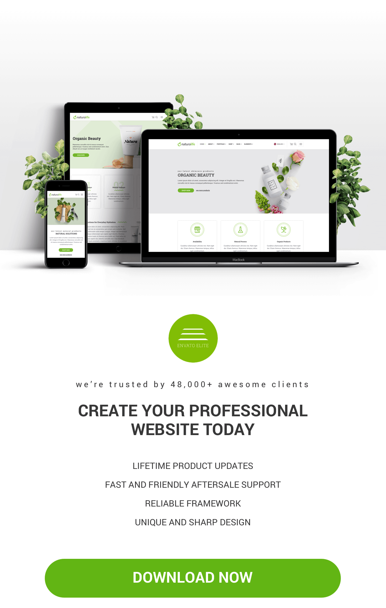 NaturaLife | Health & Organic WordPress Theme - 5