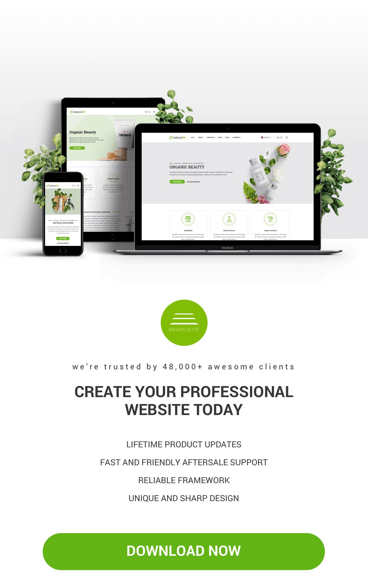 NaturaLife | Health & Organic WordPress Theme - 5