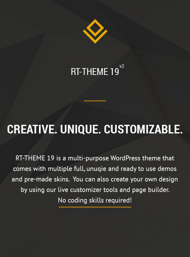 RT-Theme 19 | Multi-Purpose WordPress Theme, Gobase64