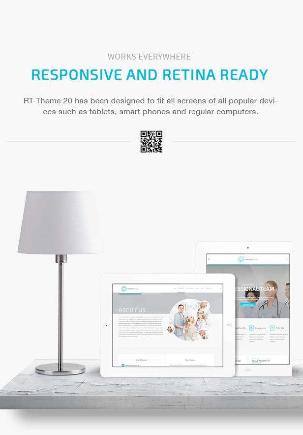 RT-Theme 20 | Medical, Health and Medical Product Catalog Download