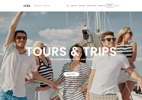Nixe – Creative Multi Concept WordPress Theme